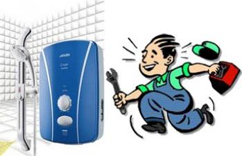 Sửa máy nước nóng trực tiếp và gián tiếp